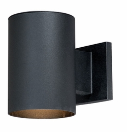 "Vaxcel Chiasso 7.25"" Black Outdoor Wall Lighting CO-OWD050TB"