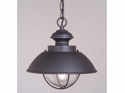 Vaxcel Harwich Black Outdoor Hanging Light OD21506TB