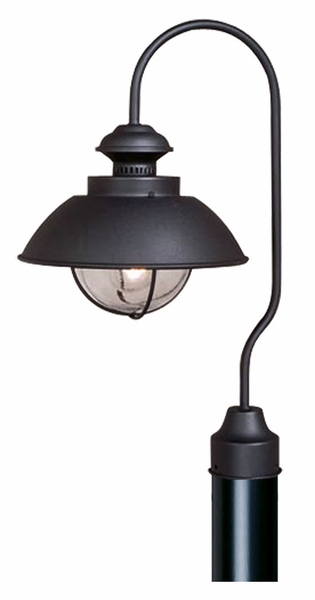 Vaxcel harwich black outdoor post light op21505tb mozeypictures Image collections