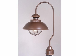 Vaxcel Harwich Bronze Outdoor Post Lighting Fixture OP21505BBZ