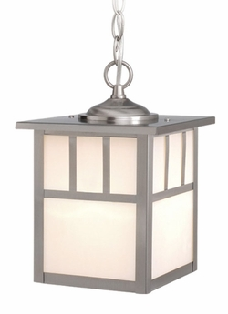 "Vaxcel Mission 11"" Outdoor Pendant Light OD14676ST"