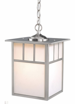 "Vaxcel Mission 13"" Outdoor Hanging Lantern OD14696ST"