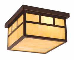 Vaxcel Mission Exterior Ceiling Light OF37211BBZ