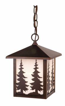 Vaxcel Yosemite Outdoor Lighting Pendant OD33486BBZ