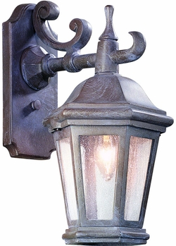 Verona Exterior Wall Lighting Fixture in Bronze by Troy BCD6890BZP