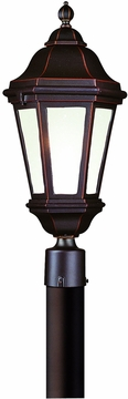 Verona Traditional Fluorescent Outdoor Lighting Post Lamp by Troy PFCD6832ABZ