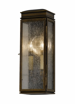 "Whitaker 22.5"" Outdoor Wall Lantern By Murray Feiss - Transitional OL7402ASTB"
