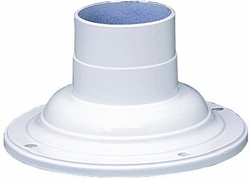 White Pier Mount Adapter by Kichler 9530WH