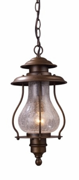 Wikshire Nautical Hanging Outdoor Light by Landmark 62006-1