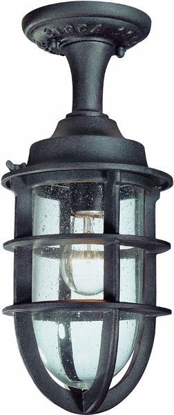 wilmington nautical semi flush outdoor ceiling light by troy c1864nr