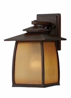 "Wright House 12.5"" Exterior Sconce By Murray Feiss - Brown OL8501SBR"