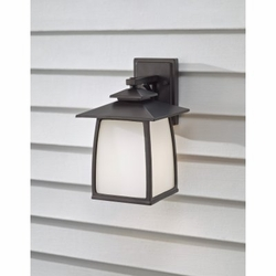 """Wright House 12.5"""" Outdoor Wall Sconce By Feiss - OL8501"""
