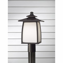 "Wright House 16"" Outdoor Lamp Post By Feiss - OL8508"