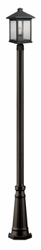 "Z-Lite Portland 112.25"" Outdoor Lighting Post Lamp - Bronze 531PHBR-519P-ORB"