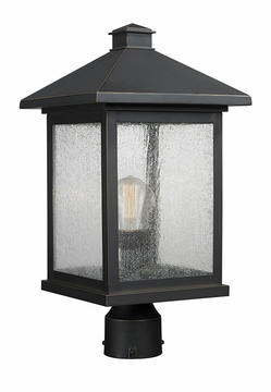 "Z-Lite Portland 18.5"" Outdoor Post Lighting - Bronze 531PHBR-ORB"