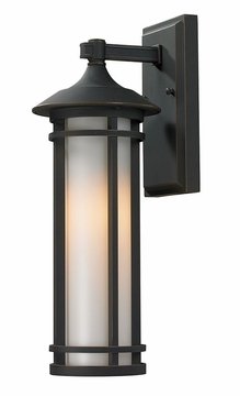 "Z-Lite Woodland 17"" Outdoor Wall Lighting Fixture - Bronze 530S-ORB"