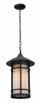 "Z-Lite Woodland 18"" Outdoor Hanging Lighting - Bronze 528CHB-ORB"