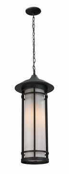 "Z-Lite Woodland 24.5"" Outdoor Hanging Light - Bronze 530CHB-ORB"