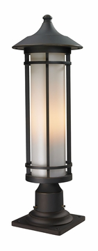 "Z-Lite Woodland 24"" Exterior Post Lamp - Bronze 530PHM-533PM-ORB"