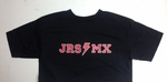 JRS MX T-Shirt Black - Bolt Logo - Men's Small
