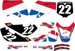 Kawasaki KLX 110 Graphics Kit 2002-2009 (USA) Stripe Series by FastTimes