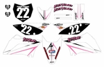 KLX110 Graphics Kit (Pink) Arrow Series by Fast Times 2010-2020