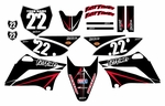 KLX110/L Graphics Kit (Black) Arrow Series 2010-2020