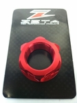 Zeta Steering Stem Billet Nut M22-1.0 (Red) Kawasaki KLX110