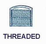 1-1/4'' Cap-Threaded