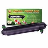 Coralife Turbo-Twist 12X - U.V. Pond Clarifier