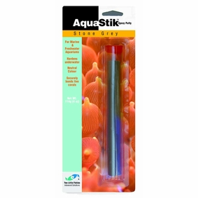 Two Little Fishies Aquastik Stone Grey Epoxy - 4 oz