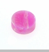 Bubble Gum Round Opal Floating Charm