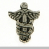 Caduceus Floating Locket Charm