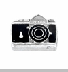 Camera Floating Locket Charm