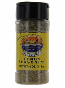 Carl's Gourmet All Natural Lemon Seasoning - 4 oz