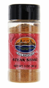 Carl's Gourmet All Natural Steak Shake Seasoning and Meat Rub - 3 oz