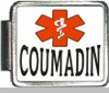Coumadin Medical Alert Photo Italian Charm