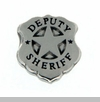 Deputy Sheriff Badge Floating Locket Charm