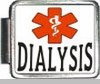Dialysis Medical Alert Photo Italian Charm