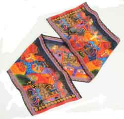 Fantasticats Scarf by Laurel Burch