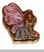 Farie with Pink Wings Floating Locket Charm