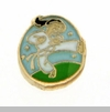 Female Karate Expert Floating Locket Charm
