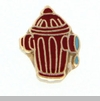 Fire Hydrant Floating Locket Charm
