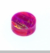 Fuschia Round Opal Floating Charm