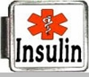 Insulin Medical Alert Photo Italian Charm