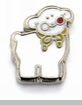 Lamb Floating Locket Charm