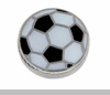 Large Soccer Ball Floating Locket Charm