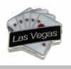 Las Vegas Heart Royal Flush Floating Locket Charm
