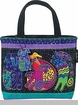 Laurel Burch Dogs & Doggies Mini Tote