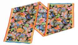 Mariposas Black Scarf by Laurel Burch